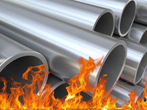 обжиг стальных труб